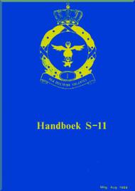 Fokker S-11  Aircraft  Handbook Manual -  ( Dutch Language )