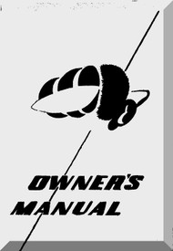 Republic RC-3 Seabee Aircraft Owner's  Manual 1963 -