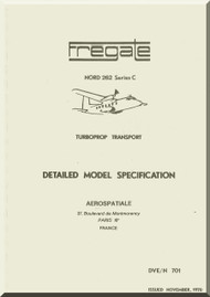 Nord 262 C Fregate Aircraft Specification Manual