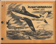 Breguet 1050  Aircraft Flight  Handbook Manual ( French Language )