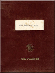Breguet 763  Aircraft Flight  Manual ( French Language )