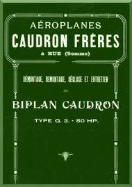 Caudron G.3. Aircraft Technical  Manual