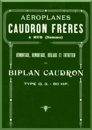 Caudron G.3. Aircraft Technical  Manual