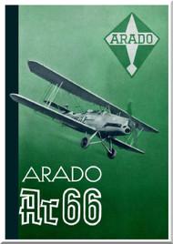Arado AR.66  Aircraft  Technial Brochure 1941, (German Language )