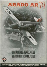 Arado AR.79  Aircraft  Technial Brochure 1941, (German Language )