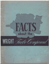 Wright Aircraft Engine Turbo Compaud Manual 1957