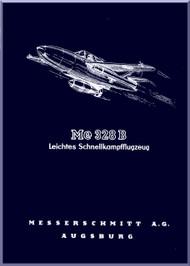 Messerschmitt Me-163 B  Aircraft  Technical  Manual ,    (German Language ) -  Leichteis Schnellkapfflugzeug