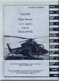 KAMAN UH-2C Helicopter Flight Manual  NAVAIR 01-260HCB-1 , 1968