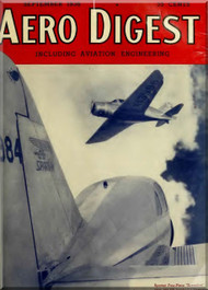 Aero Digest  Aircraft Aviation Magazines September 1936