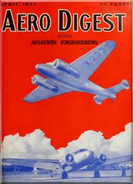 Aero Digest  Aircraft Aviation Magazines April 1934