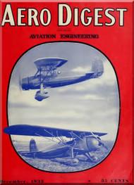 Aero Digest  Aircraft Aviation Magazines December 1933