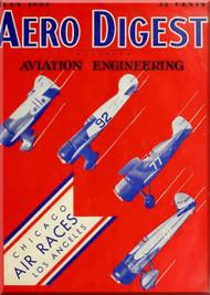 Aero Digest  Aircraft Aviation Magazines July 1933