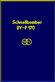 Blohm & Voss BV P-170 Aircraft Technical Manual -  (German Language )