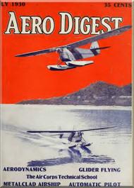 Aero Digest  Aircraft Aviation Magazines July 1930