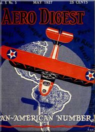 Aero Digest  Aircraft Aviation Magazines May 1927