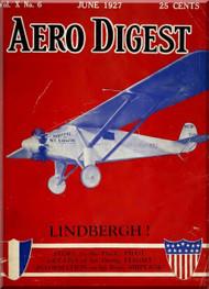 Aero Digest  Aircraft Aviation Magazines June 1927