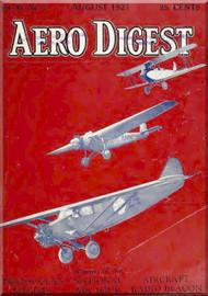 Aero Digest  Aircraft Aviation Magazines August  1927