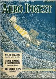 Aero Digest  Aircraft Aviation Magazines January 1927