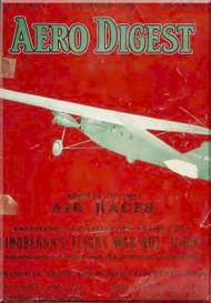 Aero Digest  Aircraft Aviation Magazines October 1927