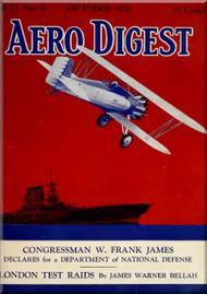 Aero Digest  Aircraft Aviation Magazines October 1928