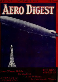 Aero Digest  Aircraft Aviation Magazines November 1928