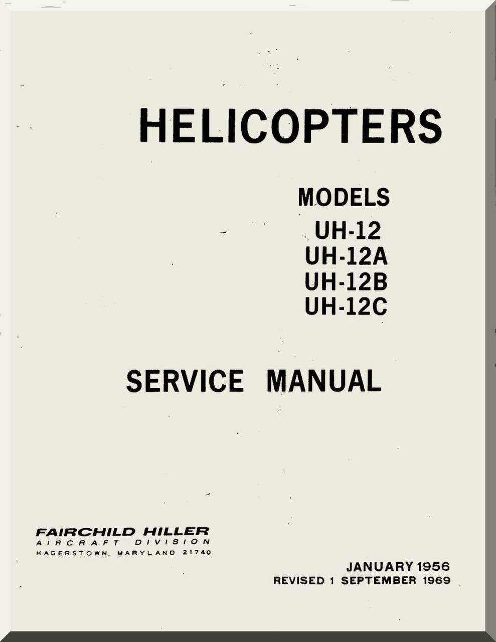 ... C Helicopter Service Manual. Price: $14.85. Image 1