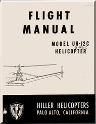 Hiller  UH-12 C Helicopter Flight  Manual