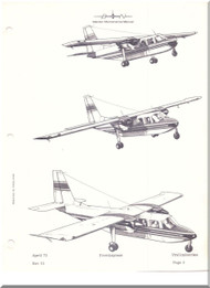 Britten-Norman Islander Aircraft Maintenance Manual  - 1971