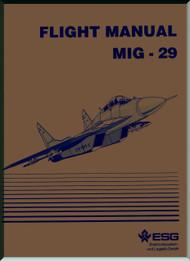 Mikoyan Gurevich Mig-29  Aircraft Flight Manual  ( English  Language )