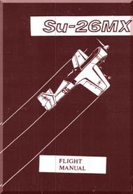 Sukhoi Su-26 MX Aircraft Flight  Manual   ( English  Language )
