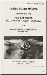 Hughes Helicopter 300 C and 269 C Pilot' s Flight Manual