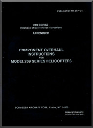 Hughes Helicopter 269 Series Components Overhaul Instruction  Manual