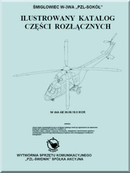 PZl W-3A  Helicopter Rotocraft Illustrated Parts Catalog  Manual ( Polish Language )