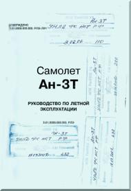 Antonov An-3T  Aircraft Flight  Manual   ( Russian  Language )