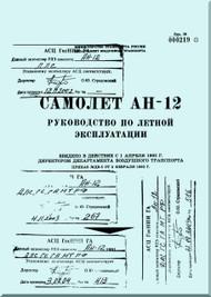 Antonov An-12 Aircraft Flight  Manual  ( Russian  Language )