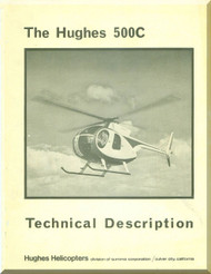 Hughes 500C Helicopter Technical Description Manual
