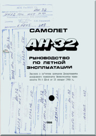 Antonov An-32   Aircraft Flight    Manual  ( Russian   Language )