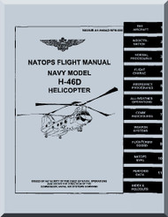 Boeing  Helicopter H-46 D Flight  Manual  - 1997, NAVAIR A1-H46AD-NFM-000