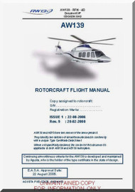 Agusta Westland AW-139  Flight  Manual  ( English Language  )