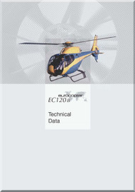 Eurocopter EC 120 B  Helicopter Technician Data  Manual  ( English Language )