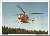 Sud Aviation / SNCASE SA.315 B Helicopter Technical Brochure Manual