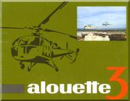 Sud Aviation / SNCASE Aerospatiale  Alouette III Technical Brochure  Manual - ( French Language )