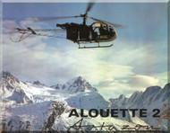 Sud Aviation / SCASE  / Aerospatiale  Alouette II Helicopter Technical Brochure Manual