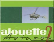 Sud Aviation / SCASE  / Aerospatiale  Alouette II Helicopter  sa 3180 astazou Technical Brochure Manual