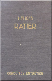 Ratier Propeller Helices Counduite et  Entretien   Manual  ( French Language )