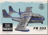 SIAI Marchetti / Nardi FN 333 Riviera  Aircraft Technical Brochure   Manual - 2