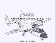 Fairchild T-46 A Aircraft  CrewChief Certification Manual