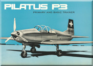 Pilatus P-3  Aircraft  Technical Brochure  Manual -  ( English   Language ) -