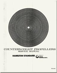 Hamilton Standard  Aircraft Propeller  Counterweight Service Manual