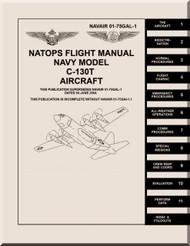 Lockheed C-130 T Aircraft  Flight  Manual, NAVAIR 01-75GAL-1